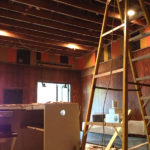 Lobby under construction | Palace Theatre