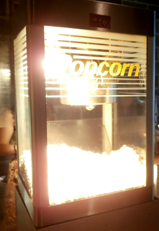 About: Popcorn machine | Palace Theatre